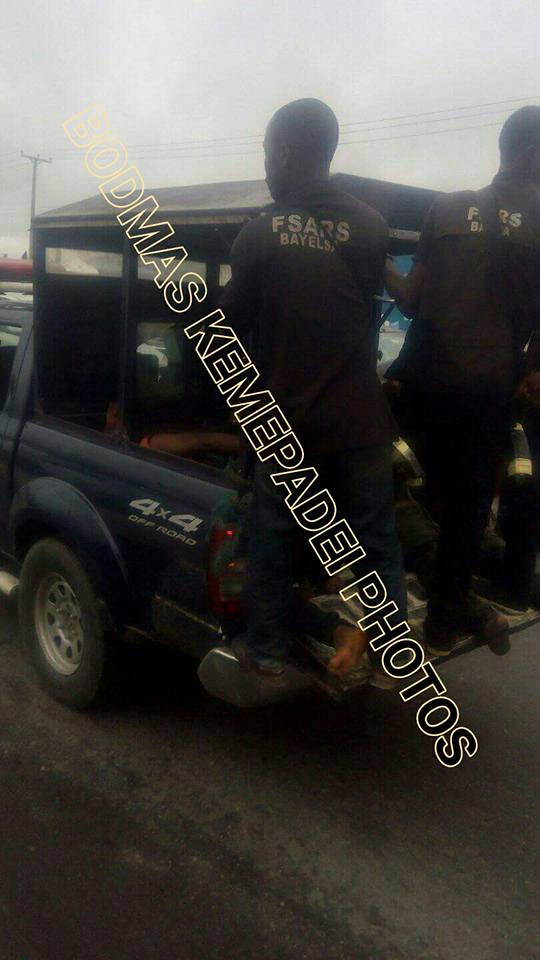 Armed Robbers Nabbed After Shootout With SARS Operatives In Bayelsa