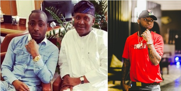 Dangote Carried Baby Davido Home After His Christening - Aig