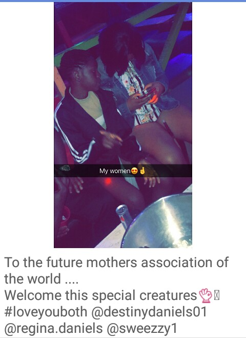6112133_img20171016081230463_jpeg3b528acaa8344b3d5360057c6c2557f6 Regina Daniels Pictured With Her 12-Year-Old Sister In A Club (Photo)