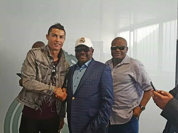 6115297 fbimg1508174232255 jpegfb3b462f23a789aa48b9da085b7894cf - Gov Wike Meets With Cristiano Ronaldo In Spain (Photos)