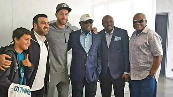 6115335 fbimg1508175750056 jpegc8a9eab5ad84c198b51ff82410fc4c01 - Gov Wike Meets With Cristiano Ronaldo In Spain (Photos)