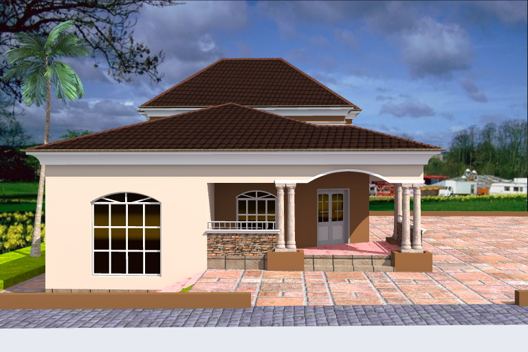 Building from the Diaspora: 3 Bedroom Bungalow + Penthouse ...