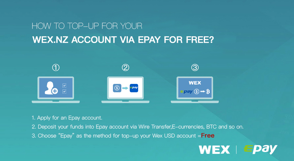How To Top-up For Your Wex.nz Account Via Epay For Free? - Business ...