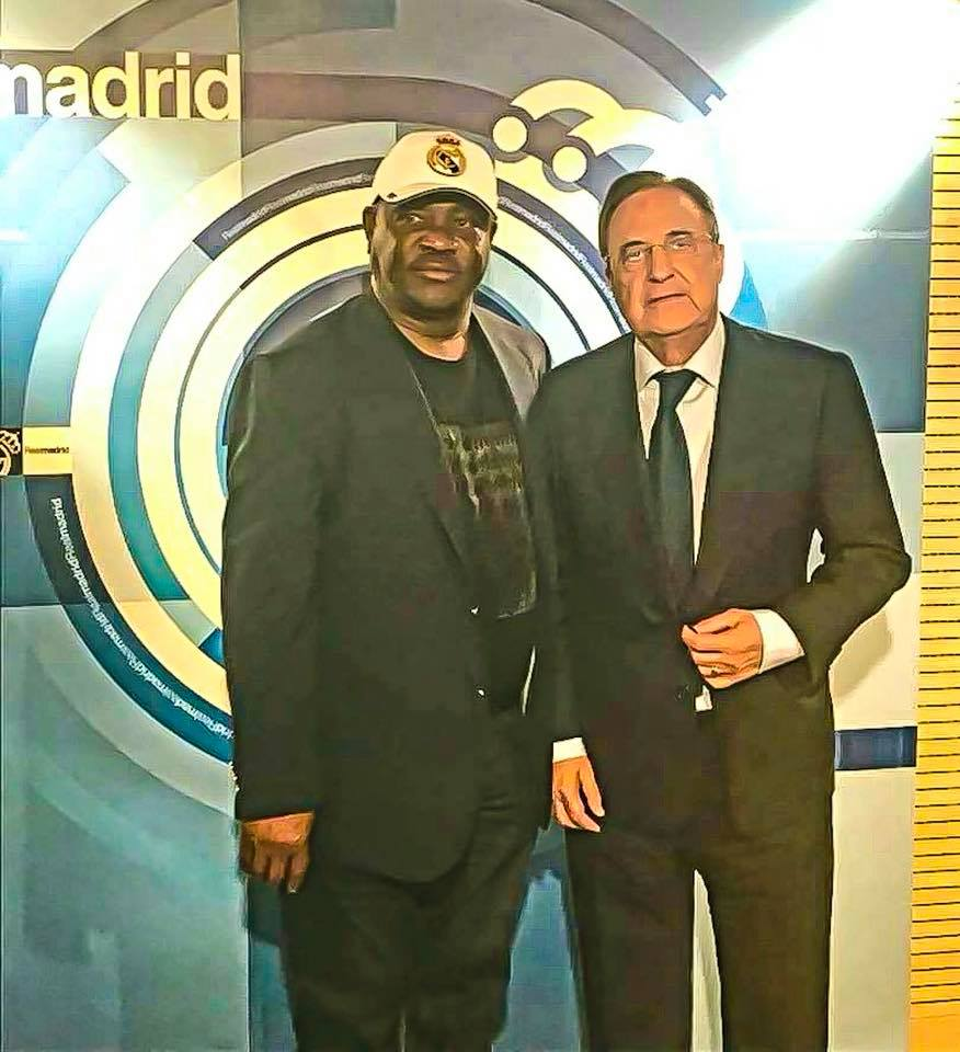 Wike Concludes Plans With Real Madrid For Football Academy In Rivers (Photos)