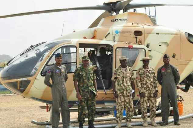 Nigerian Air Force Deploys Fighter Helicopter To Plateau To Maintain Peace (Pics)