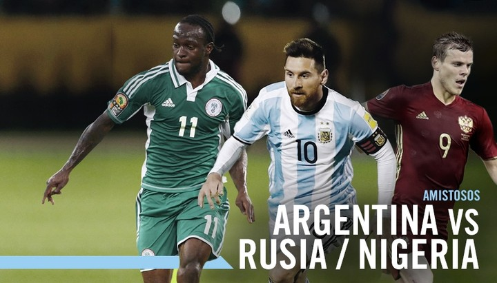 Nigeria Vs Argentina: International Friendly, On November 14, 2017