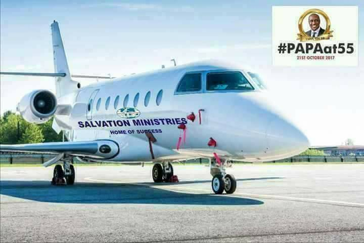 Salvation Ministries Private Jet Was Photoshopped - Facebook User