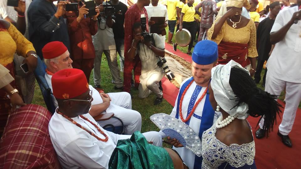 Traditional Marriage Of A White Man From US And His Bride In Imo (Photos)