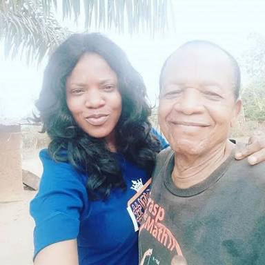 Image result for Actress Toyin Abraham Loses Dad .
