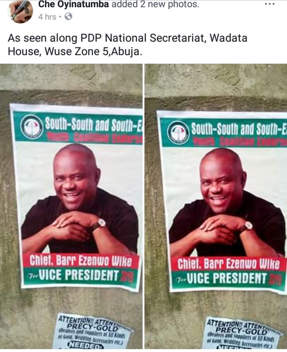 6147096 img20171023141925880 jpegbc384c5518ef6d04c08cbf0f893cad90 - Governor Wike For 2019 Vice President' Posters Spotted In Abuja ( See Photos)