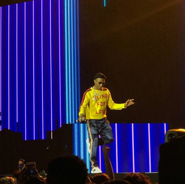 Wizkid Performs At The Future Hndrxx Tour Hosted By American Rapper, Future PICS