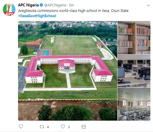 Governor Rauf Aregbesola commissions another World Class High School in Osun {PHOTOS}