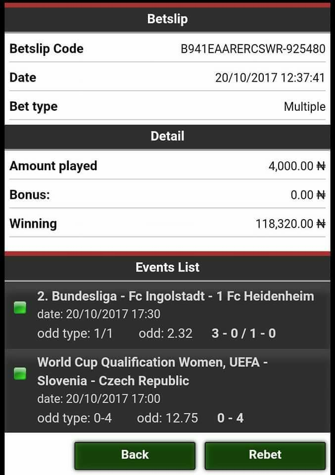 See What I Discovered From Bet9ja This Morning - Crime - Nigeria