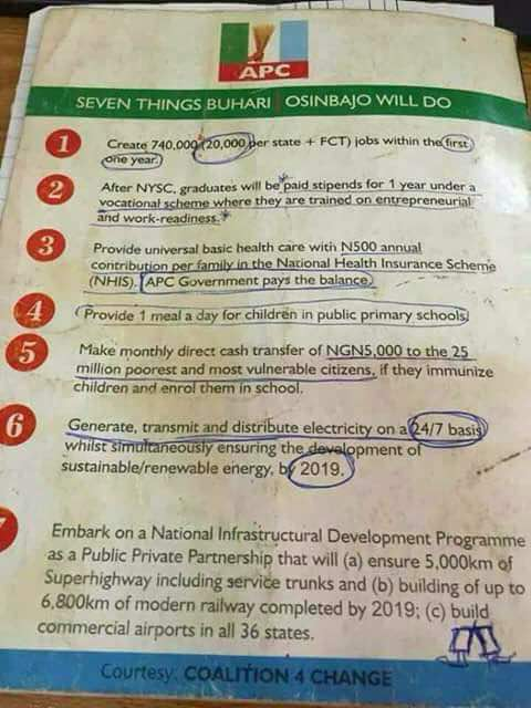 Image result for apc promises in 2015