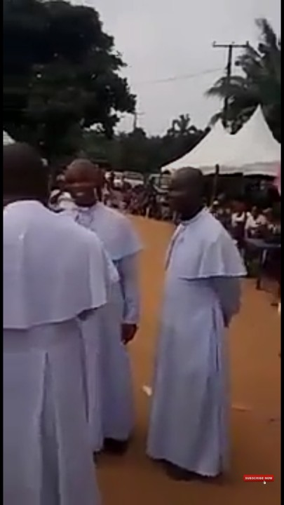 Anambra Election: You Won't Believe What Anglican Priests Did Yesterday (Video, Pics)