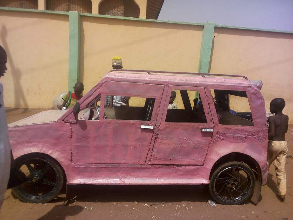 A Talented Nigerian Man In Sokoto Who Created Local Car. - Autos ...