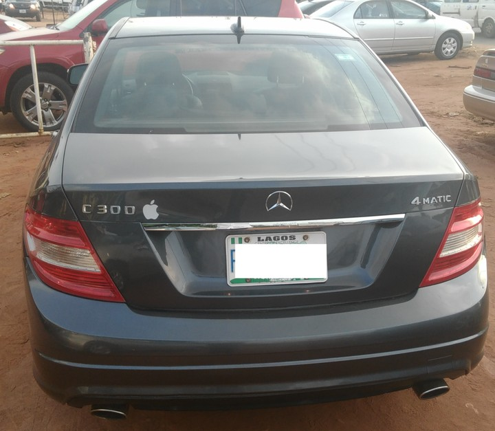 Neatly Used 2008 Mercedes Benz C300 4matic (in Benin City