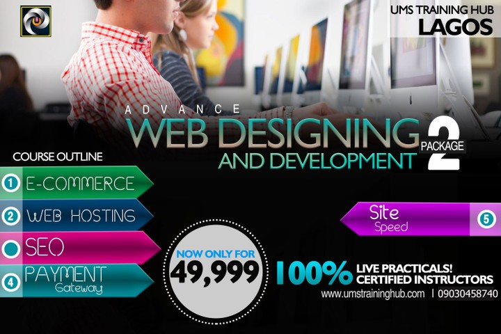 Attend Web Design And Development Training In Lagos Nysc Discount Nysc Nigeria