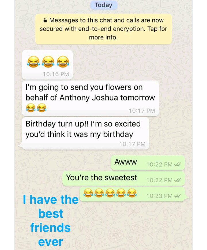 Toke Makinwa Gets Flowers As Birthday Gift On Behalf Of Her Crush