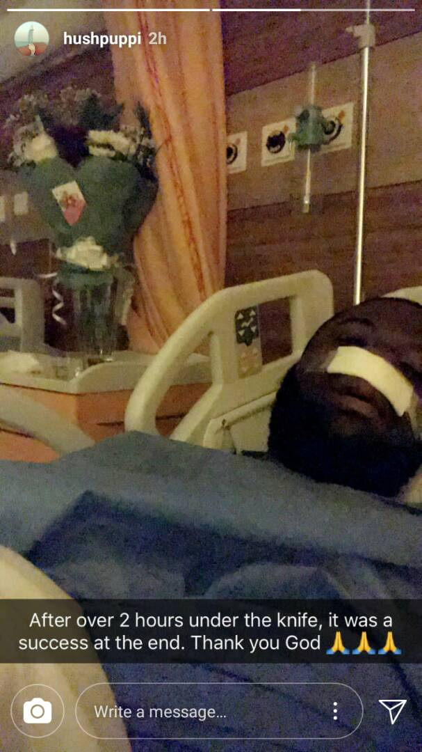 Hushpuppi Undergoes Surgery But He's Not Happy The Surgical Gown Is Not Gucci (Pics)