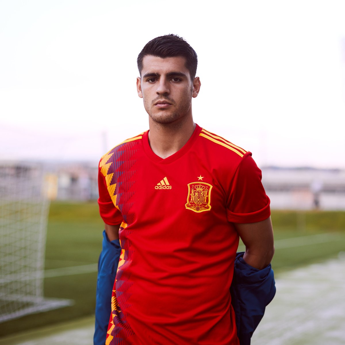 a90e010f3 Full story  http   www.concaholic.com sports russia-2018-adidas-unveils- world-cup-kits-spain-germany