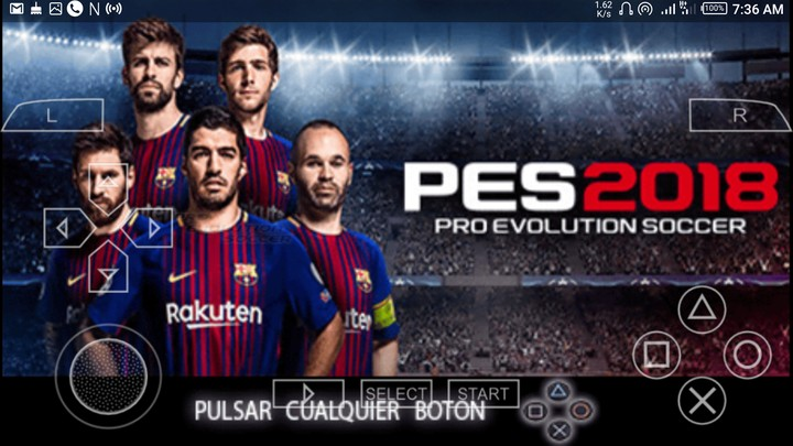 telecharger pes 2018 for ppsspp android