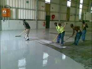Come learn and see epoxy floor installation done live this