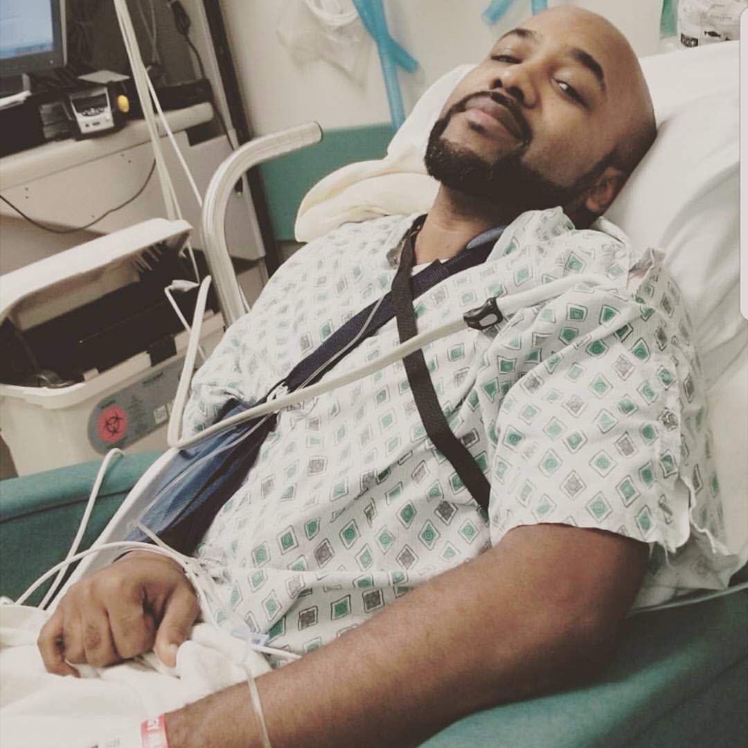 Banky W Undergoes Surgery For Skin Cancer Tumours (Photos From The Operation)