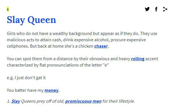 Urban dictionary gives the best definition to the word slay queen 1 like voltagebd Choice Image