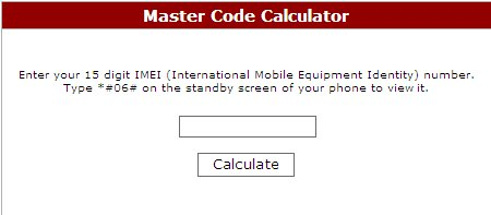 calculate your nokia phone 39 s security master code easily. Black Bedroom Furniture Sets. Home Design Ideas