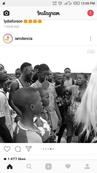 {filename}-Dencia Stops Children From Fighting On Her Way To Interview