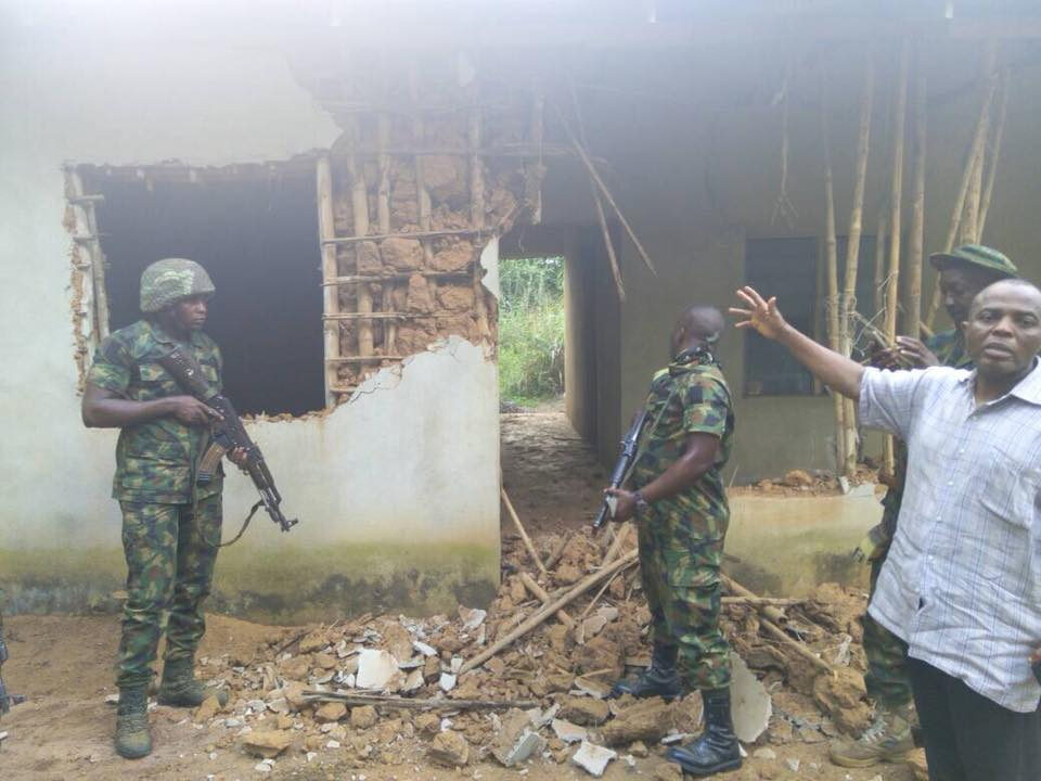 Image result for photos of Soldiers In Umuahia Arrest Men With Cocaine And Weed In Abia