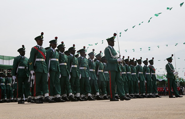 {filename}-President Buhari In Abakaliki, Shuns Guard Of Honour