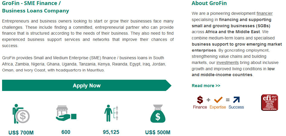 how to get funds for business in nigeria