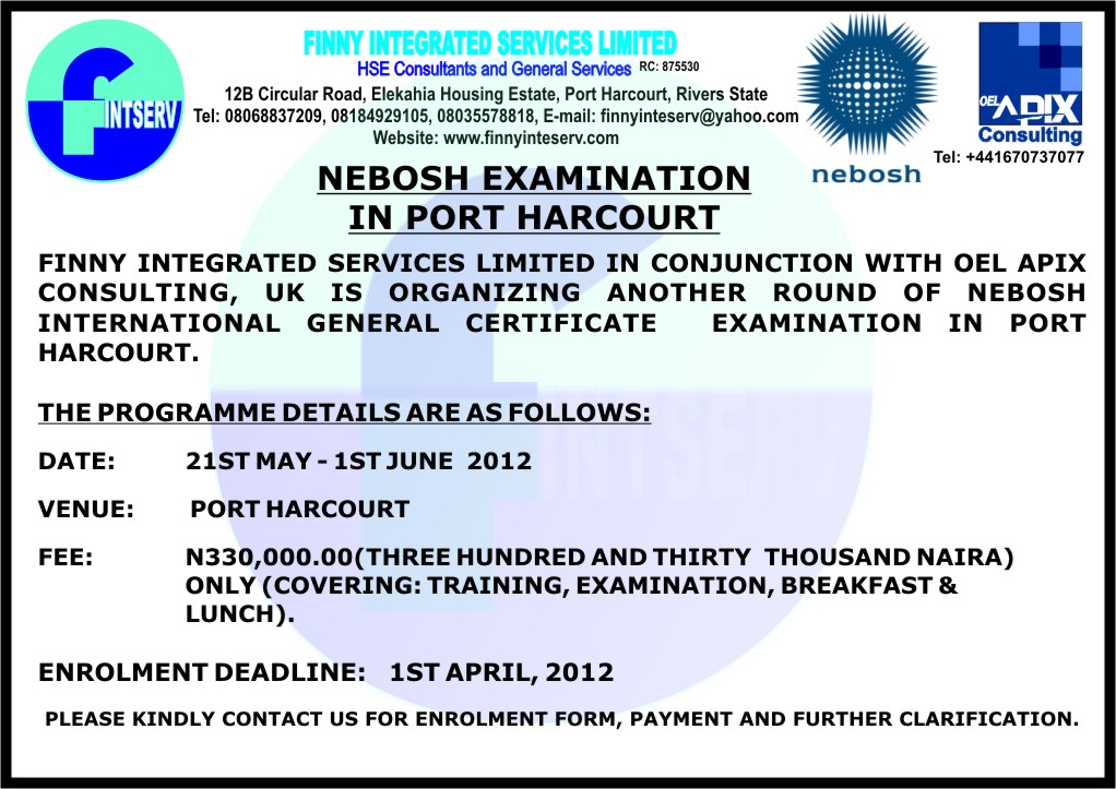 Any Hse Professionals In The House Career 11 Nigeria