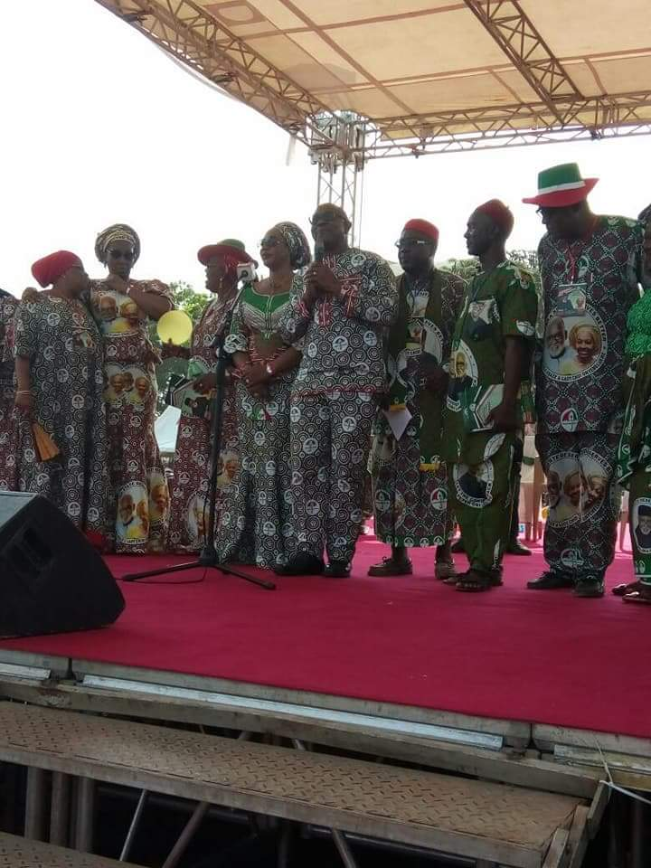 Goodluck Jonathan At Anambra PDP Governorship Campaign Rally (Photos)