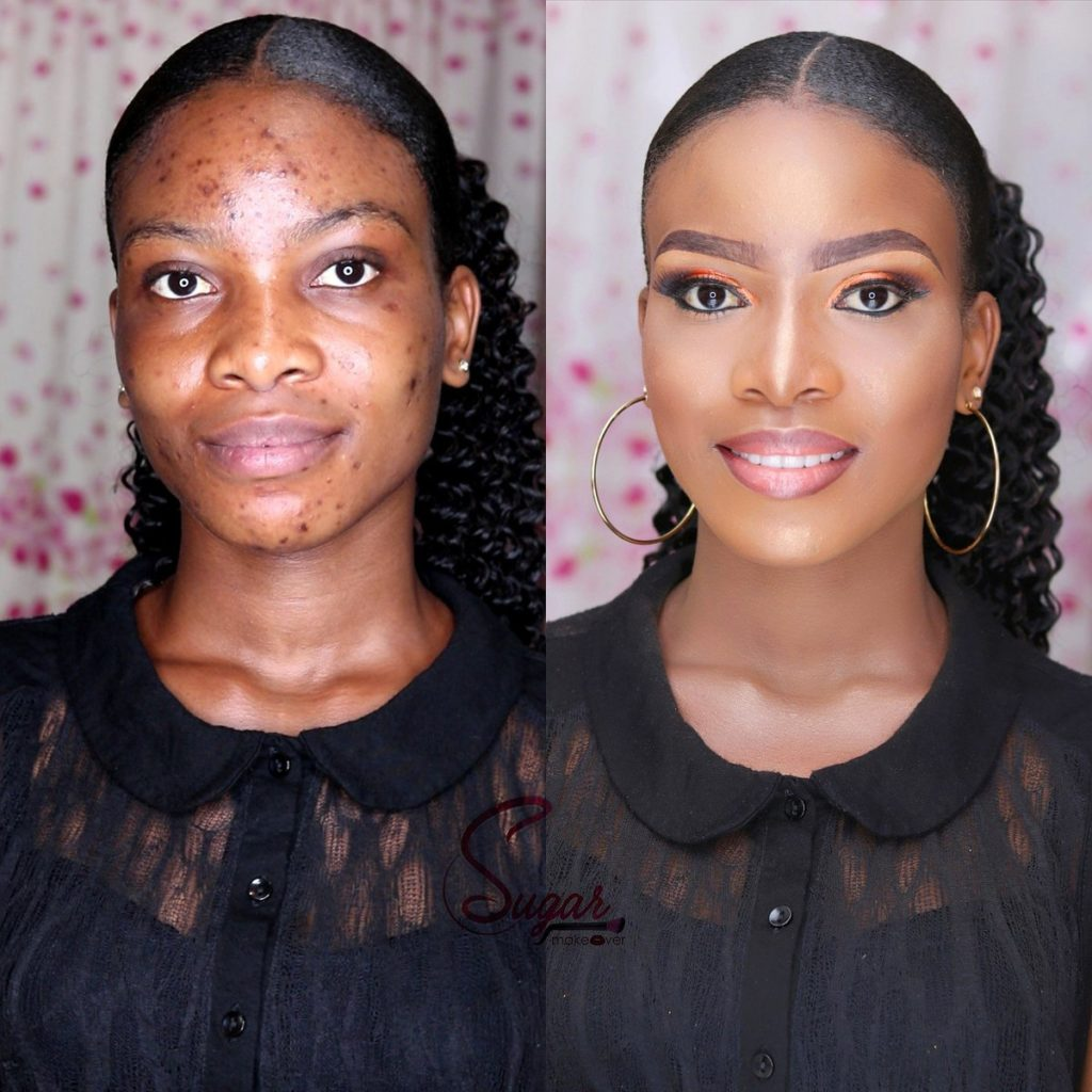 This Before And After Makeup Transformation Is Amazing Photos - Before and after makeup photos