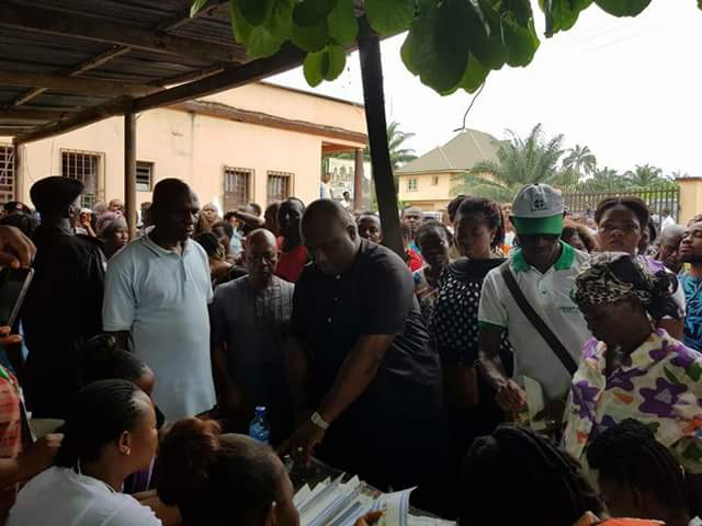 Anambra Billionaire Dr  Ifeanyi Ubah Vote In Anambra Election