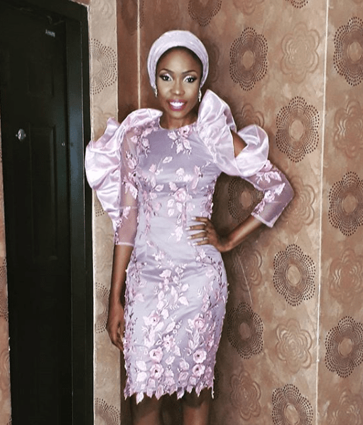 Female Celebrities Outfits To Banky W & Adesua Etomi's Traditional Wedding