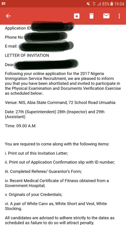Nigeria immigration service sends invitations to successful source httpnairaland 4185935nigeria immigration service sends invitations stopboris Image collections