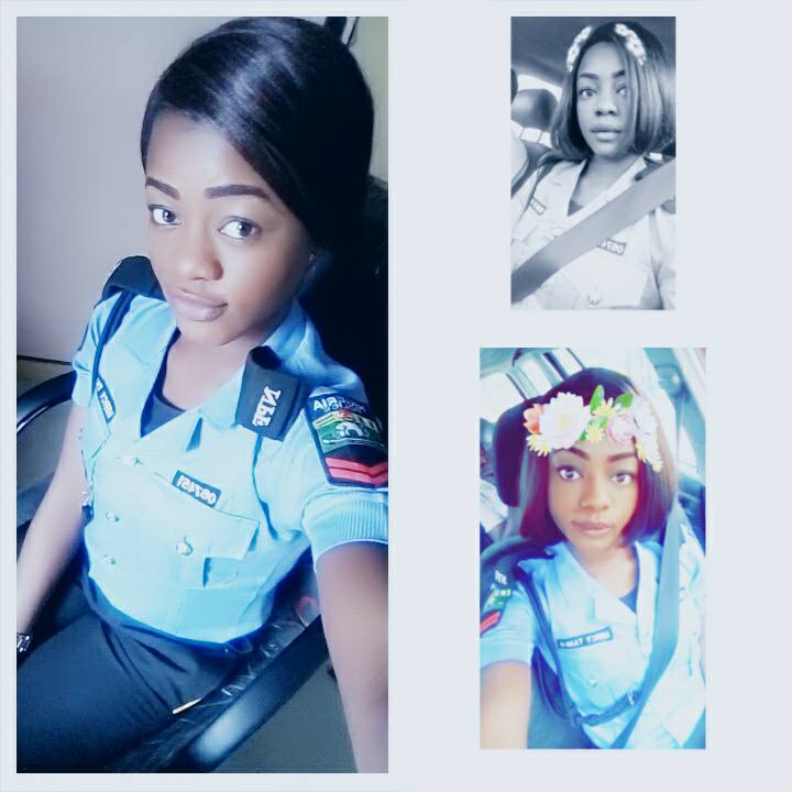 HOT PRETTY POLICEWOMAN TURNS SLAY QUEEN AS SHE RELEASES PHOTOS TO MARK HER BIRTHDAY