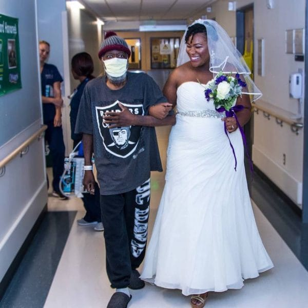 Wedding Week A Few Surprises: Lady Holds Surprise Wedding In Hospital As Her Father Has