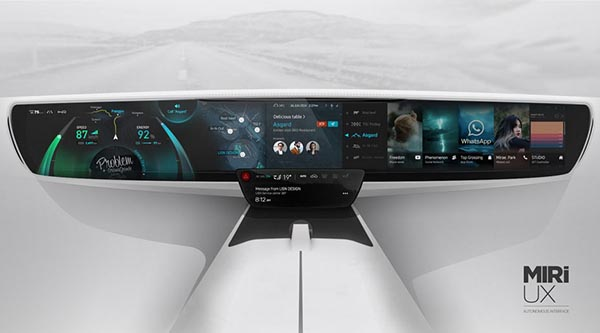 This Is How Your Car Dashboard Will Look Like In The Future