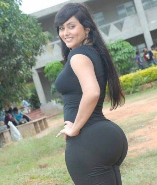 Women with big round asses