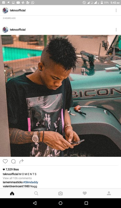 Checkout Tekno New Hairstyle And Fans Reaction