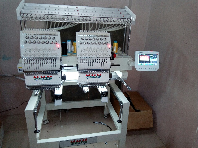 Two Head Feiya Computer Embroidery Machine For Sale In ...