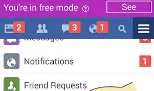How To See Photos In Facebook Free Mode (freebasic