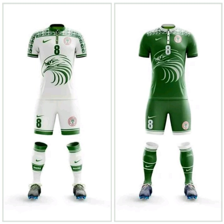 best cheap 17e61 02058 The New Super Eagles Kit For Russia 2018 (Photo) - Sports ...
