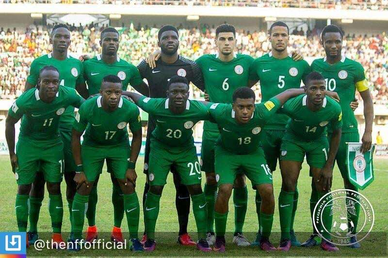 FIFA Confirms Super Eagles As Youngest Squad During 2018 World Cup Qualifiers