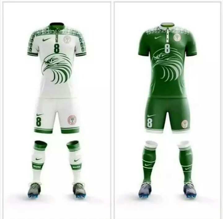 newest collection 9bf66 f585b Is This Nigeria's Official Jersey For 2018 World Cup ...